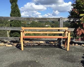 Australian Native Wooden Bench