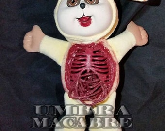 Deceased-er Bunny - Hand Painted Doll