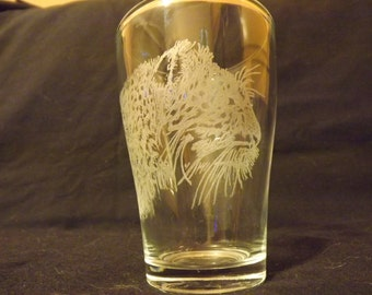 Hand engraved glass