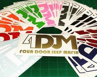 4DJM Decal