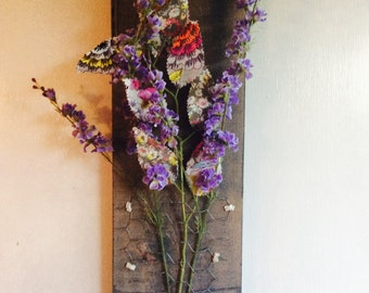 Floral Wall Hanging, Floral Wall Decor