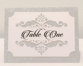 Wedding Place Cards - Table Cards - Name Place Cards - Customizable Place Cards - Wedding Decor