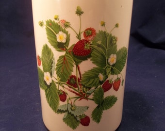 Portmeirion Summer Strawberries Canister without Lid