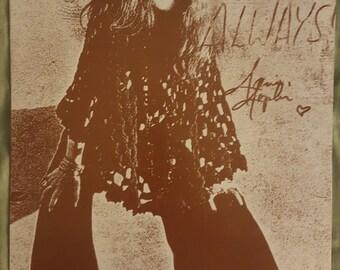 Janis Joplin 11x14 print