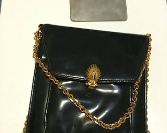 "Vintage 1960's patent leater purse by ""Prestige"""