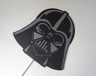 Star Wars Mask / Photo Booth Prop / Darth Vader Prop / Mask Prop / Handmade / Photobooth