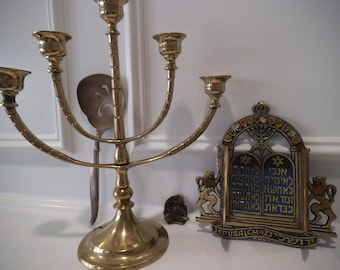 Original Jewish Art Pieces Set