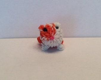 3D Hamster Rainbow Loom Charm