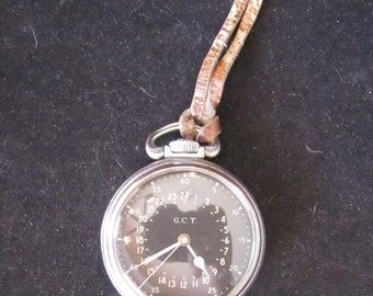 Antique Hamilton 16s 4992B, 22 jewels Navigational 16s pocket watch