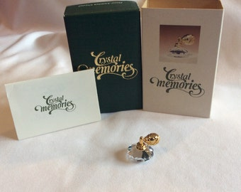 Vintage Swarovski Crystal Memories Perfume Atomizer 18k gold plated #9460000027