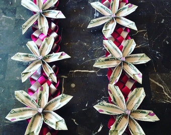 Six flower Lei Made to order