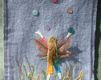Juggling Faerie Wall Hanging
