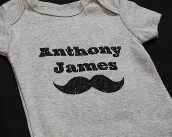 FREE SHIPPING Personalized baby boy onesies