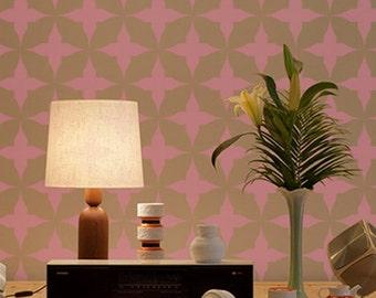 Wall Stencil Geometric 018 Circles