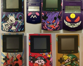 Your Own Custom Gameboy Colour