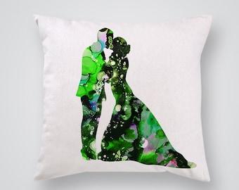 Kiss Me Decorative Pillow -  Love Pillow Cover - Throw Pillow - Gift Idea