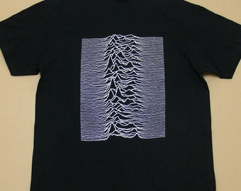 Joy Division Unknown Pleasures, T-shirt 100% Cotton