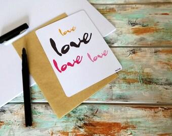 """Map """"Love, Love"""""""