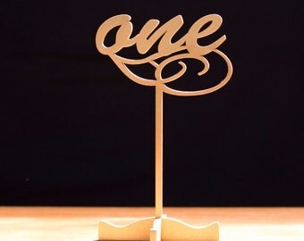 10 Freestanding Gold Table Numbers.Wedding Numbers.Table numbers.Gold Table Numbers.Numbers.