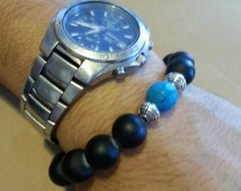 1 Torquoise Bead Bracelet