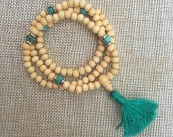 Mala Prayer Bead Wrap Bracelet