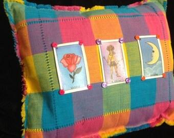Mexican Bingo Pillow