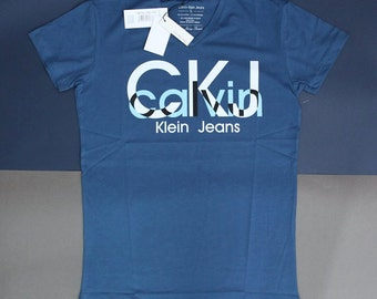 "model # 111 navy blue men's t-shirt ""calvin klein"" ,size-XL,XXL"