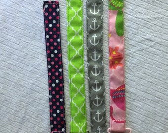 Pacifier clip, binky clip, toy clip