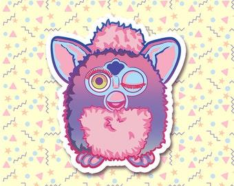90s Nostalgia - Furby Sticker