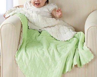 "Baby Blanket, Minky Dot, Soft, Blanket, Baby Shower Gift, Monogramming, 30"" x 40"""