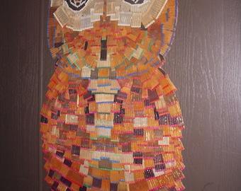 Matchbook Owl