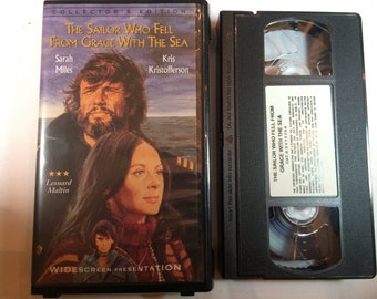 The Sailor Who Fell from Grace with the Sea Kris Kristofferson Sarah Miles VHS 1976/1997 WIDESCREEN
