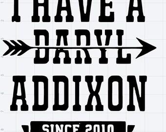 Walking Dead Daryl Dixon SVG EPS DXF Studio3 Studio 3 Design