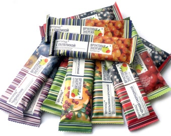 2 bars -  Dried Fruits Kids Snack, Fruit Snacks Bars, eco, car snack, healthy, vegan, natural sweets
