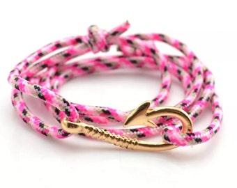 New fish hook bracelet
