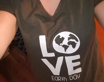 Love Earth Day Tee