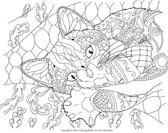 30 Cat Coloring Pages