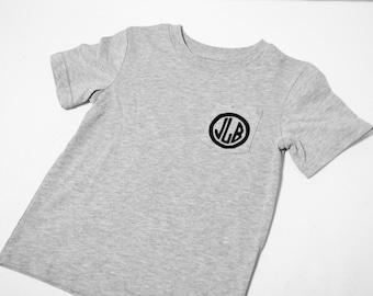 Monogram Pocket - Toddler Boys' T-shirt