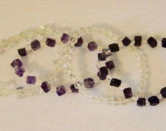 Beaded Bracelets, set of 4