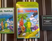 MR. TURTLE for Colecovision Homebrew Cartridge with Box & Manual