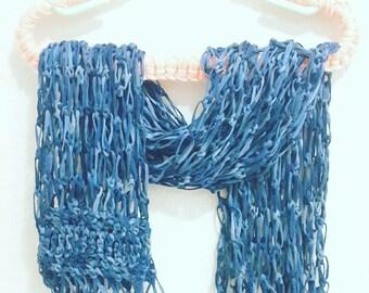 Crochet Solomon Knot Scarf