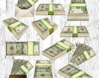 12 Money clipart, dollars clipart, usd clipart, money clip art, Money print, a bundle of moneya, cash clipart, usd cash clipart,dollars cash