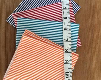 stripes 100% cotton fat quarter