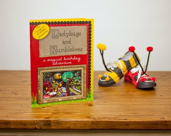 Ladybugs and Bumblebees DIY Craft Book