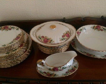 Royal Albert Vintage China Set
