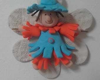 Scarecrow - Polymer Clay