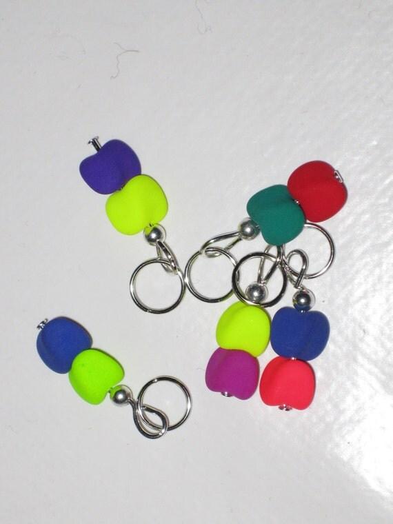 Knitting Markers Beads : Knitting stitch markers beads