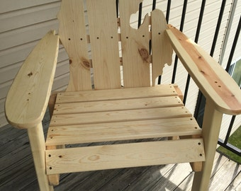 Michigan Adirondack Chair