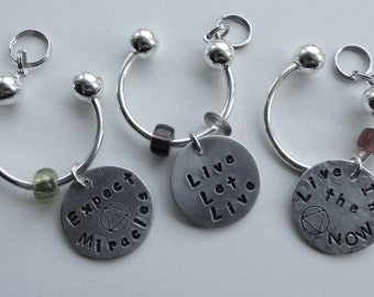 AA recovery gift, AA accessory, Pandora,recovery gifts, recovery, AA, Alcoholics Anonymous, sober recovery, sobriety, gift for addict,