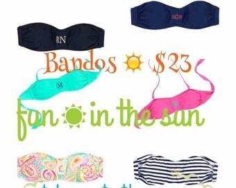 Bando swim tops
